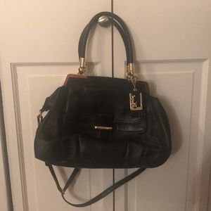 Beautiful black designer coach bag